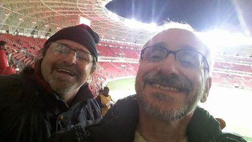 Bom dia, Guto (com o Mauro da Ladeira os curiosos lances de Inter 1 x 0 Luverdense)