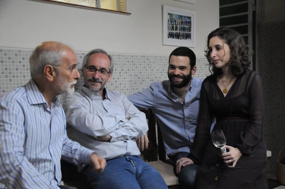 Sylvio, Milton, Vicente e Bárbara
