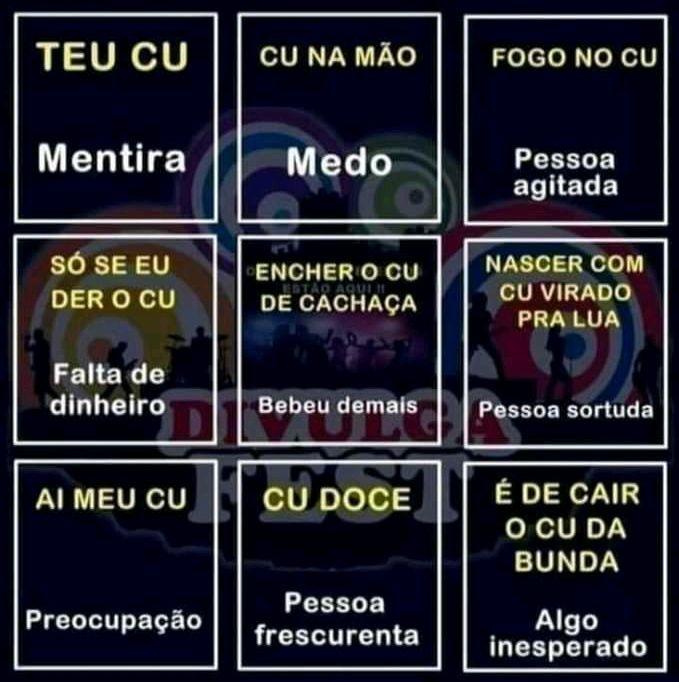 Uma contribuição para os dicionários: o cu na língua portuguesa