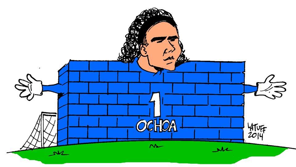 """Latuff: Guillermo Ochoa """"El Paredón Mexicano"""""""