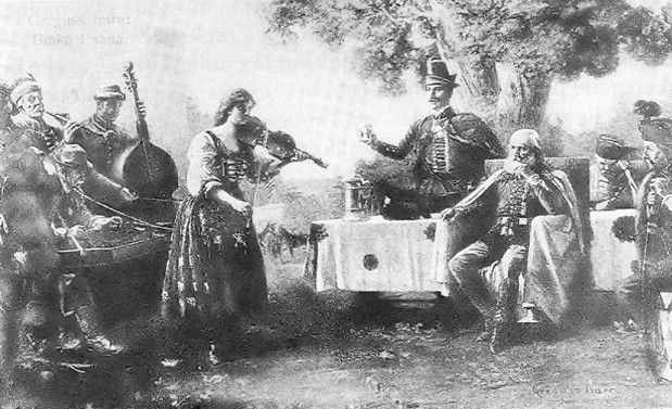 O violino húngaro e o cigano