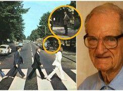 """Um dos mais famosos """"populares"""" de todos os tempos: o homem que viu os Beatles atravessarem Abbey Road…"""