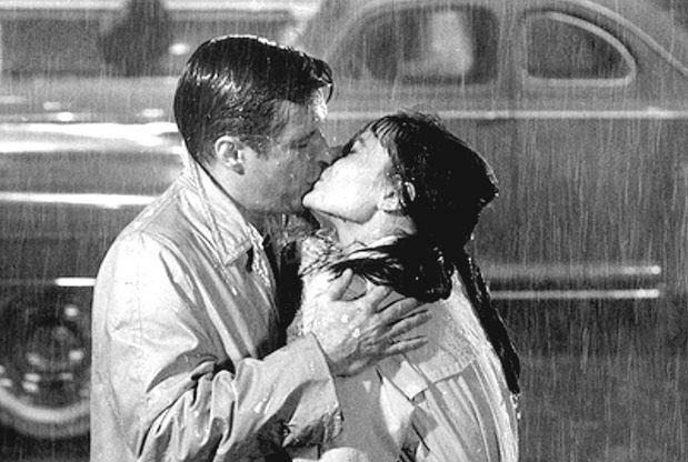 Peppard e Hepburn