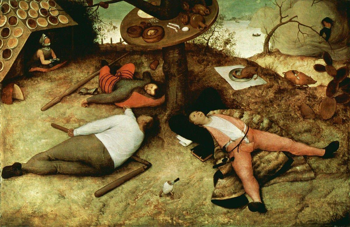 Pieter Bruegel, o Velho – O País da Cocanha