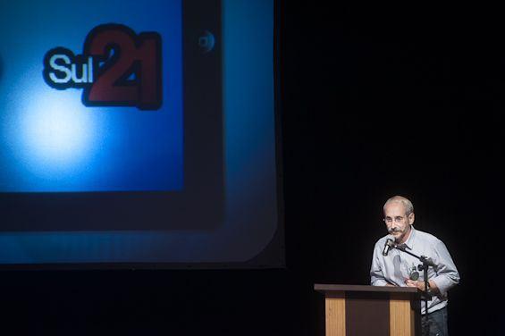 O Sul21 recebe o Prêmio Açorianos de Destaque Literário de 2012