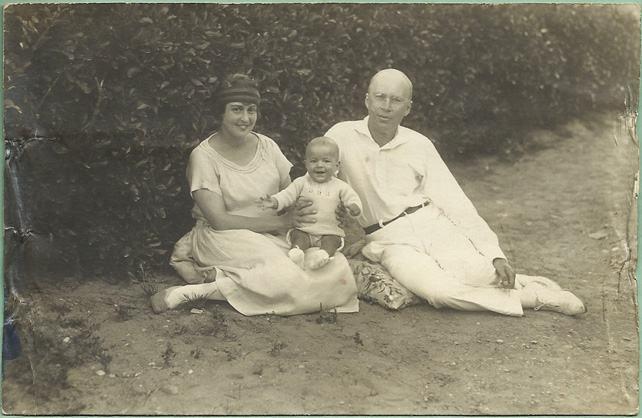 Serguei e Lina em 1924