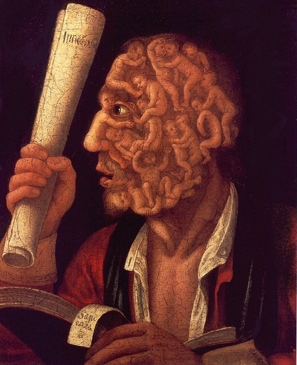 R9 Ter mais empatia Portrait of Adam, Arcimboldo, 1578