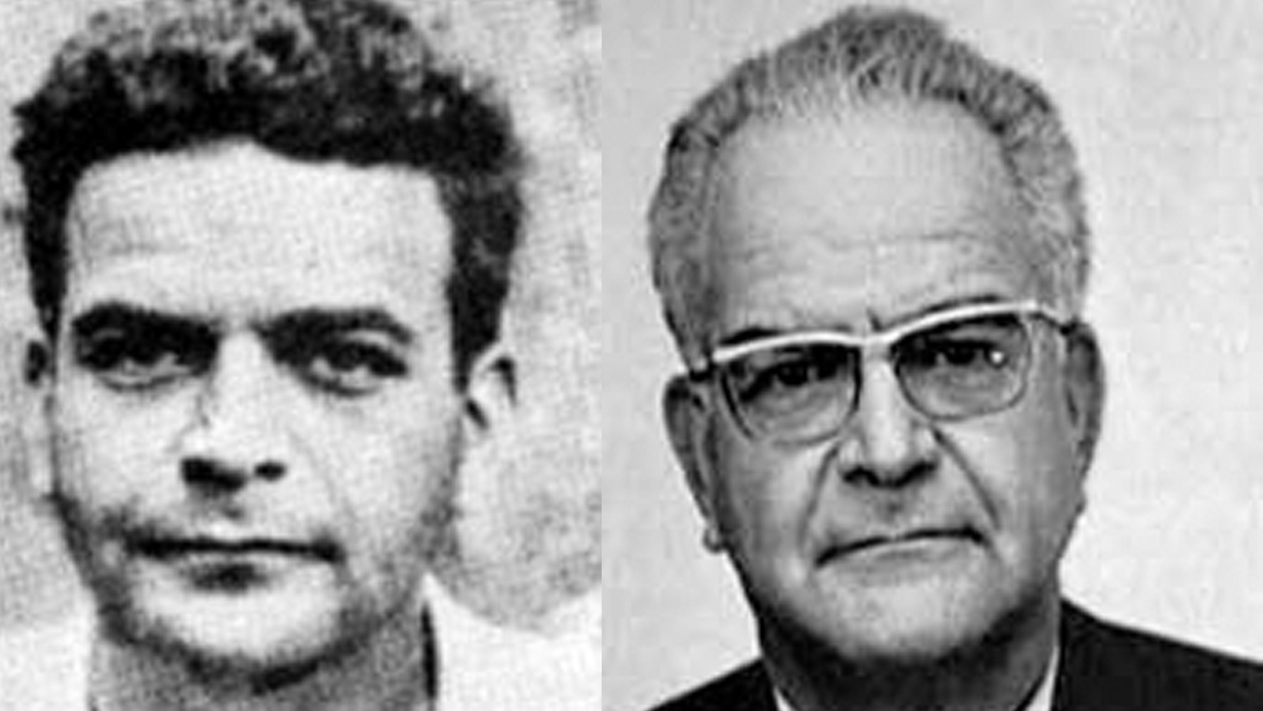 Mercader na época do assassinato e após cumprir pena de 20 anos, já em Havana ou Moscou