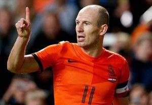 Arjen Robben: acho que seu time é o único que se classificará facilmente, entrando descansado nas semis.