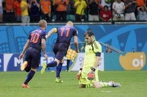 Casal perdeu a chance de acompanhar Holanda e Espanha