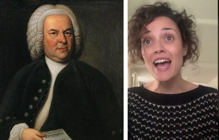 Bach é Deus, de Sheila Blanco