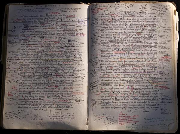 Susan Sontag's personal copy of Finnegans Wake by James Joyce