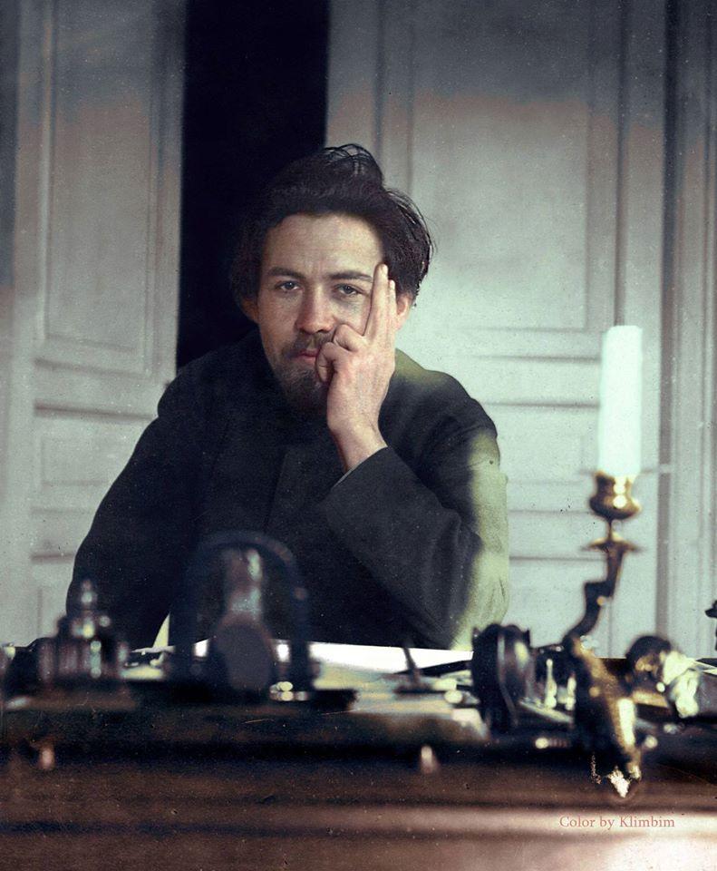 Pelos 160 anos do nascimento de Tchékhov, transcorridos hoje