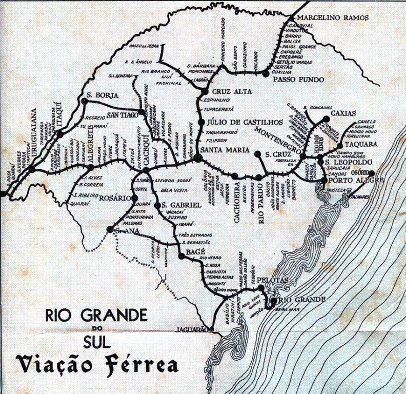 Um viés do péssimo planejamento gaúcho e brasileiro: o desmantelamento da Rede Ferroviária