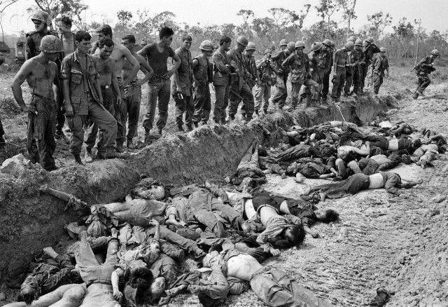 Vietnam War Viet Cong Dead