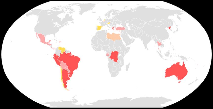 O voto obrigatório no mundo