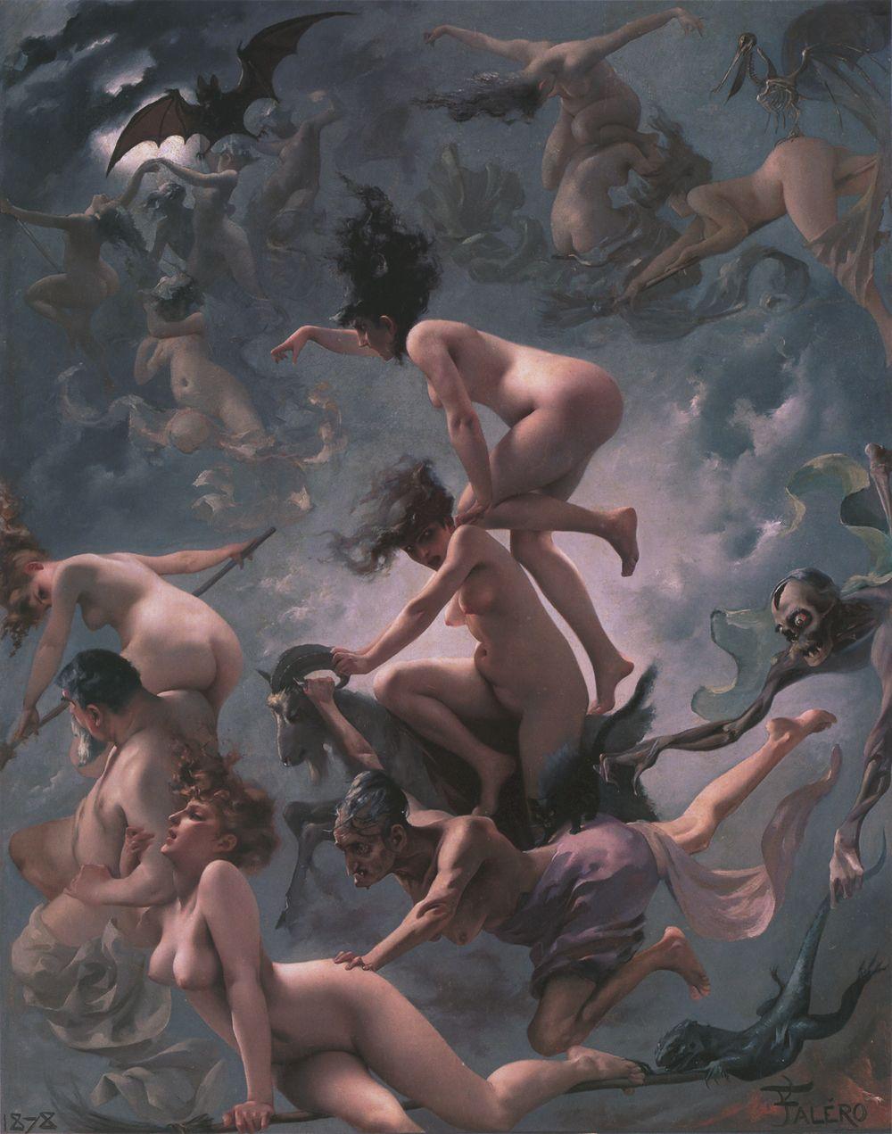 Obras de Luis Ricardo Falero (1851-1896)