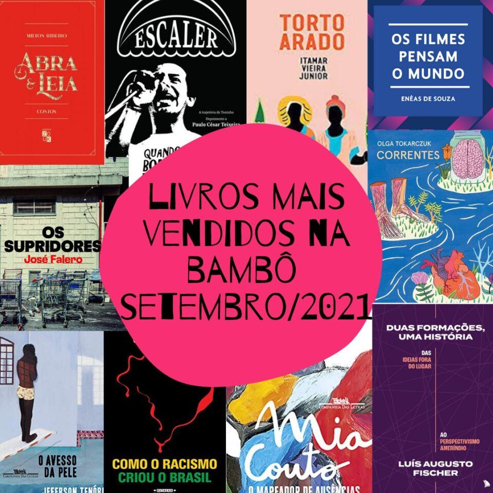 Os livros mais vendidos de setembro na Bamboletras