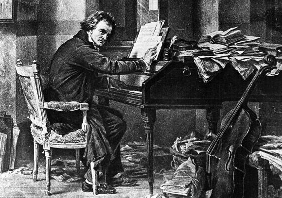 Uma palestra simples sobre a evolução da música de Beethoven