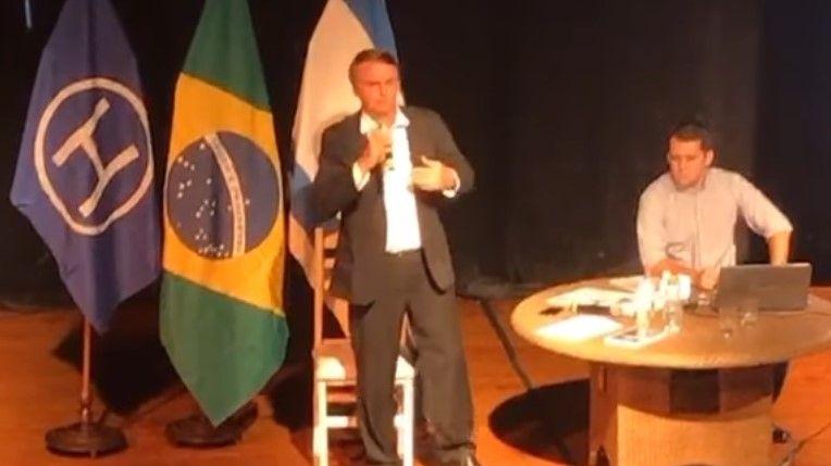 Resumo da palestra de Bolsonaro e uma pergunta: o que Vladimir Herzog acharia disto?