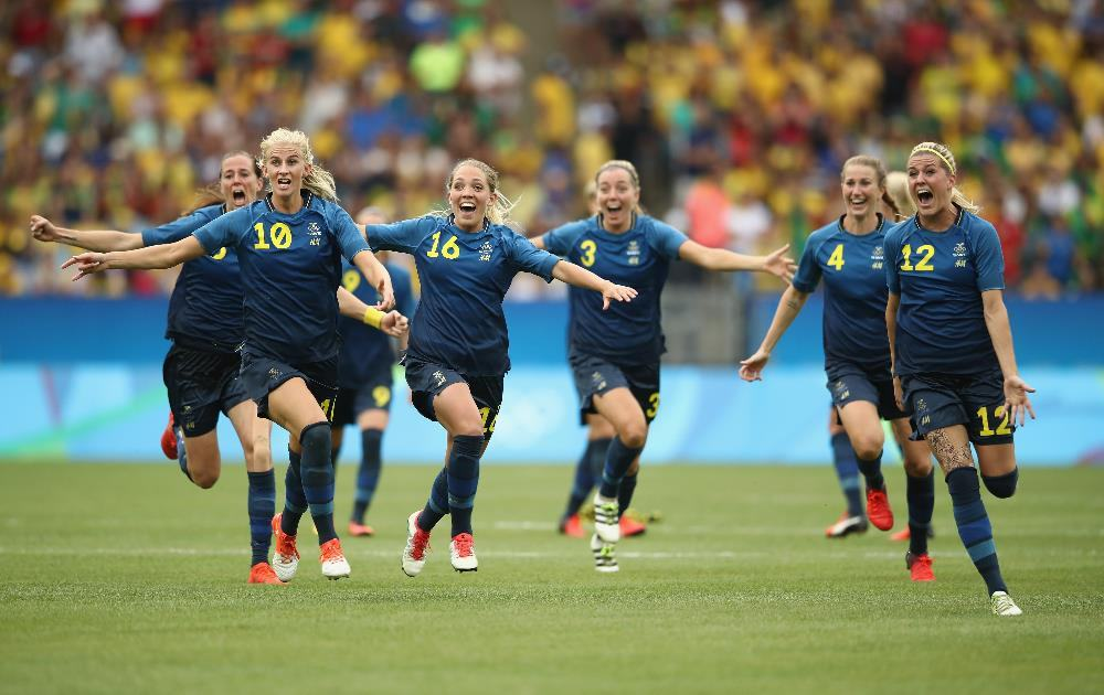 brasil Suécia futebol feminino
