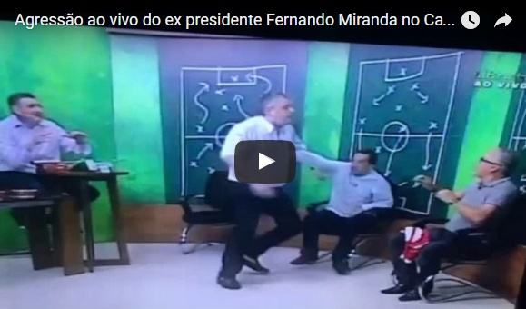 Um pequeno comentário sobre a agressão do ex-presidente Fernando Miranda