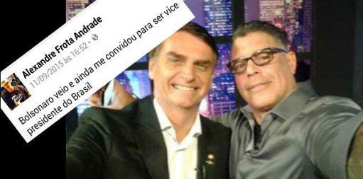 Bolsonaro, Frota e o estupro