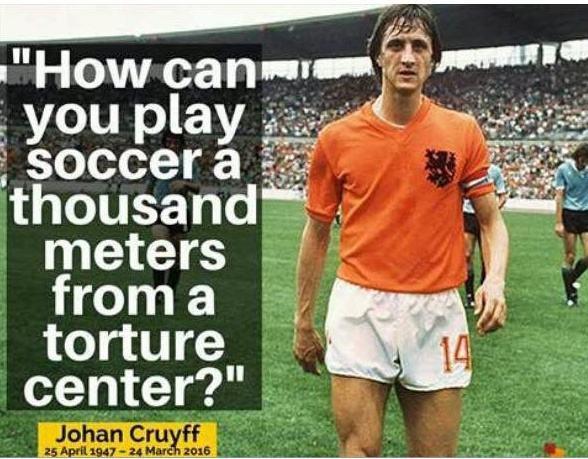 Para finalizar, Johan Cruyff em 1978