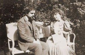 Quase dormindo, Claude Debussy com seu grande amor, Emma Bardac