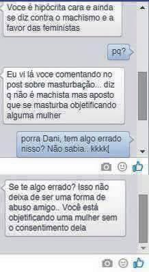 dialogo no face machista