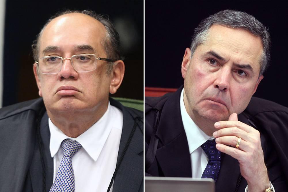 Veja o vídeo do barraco: Barroso diz que Gilmar é leniente com crime de colarinho branco