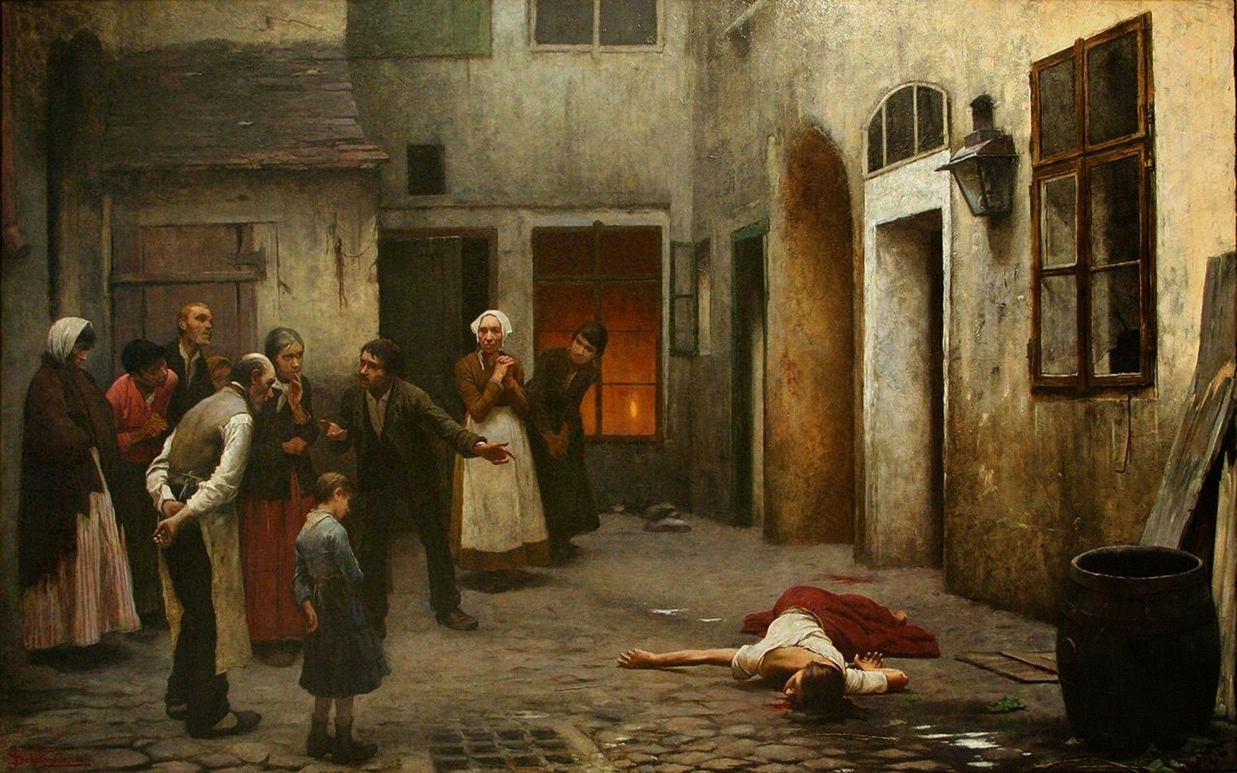 Jakub Schikaneder -- Assassinato na Casa