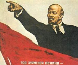 Lenin regendo