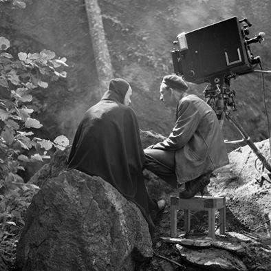 Bergman batendo um papo com a morte
