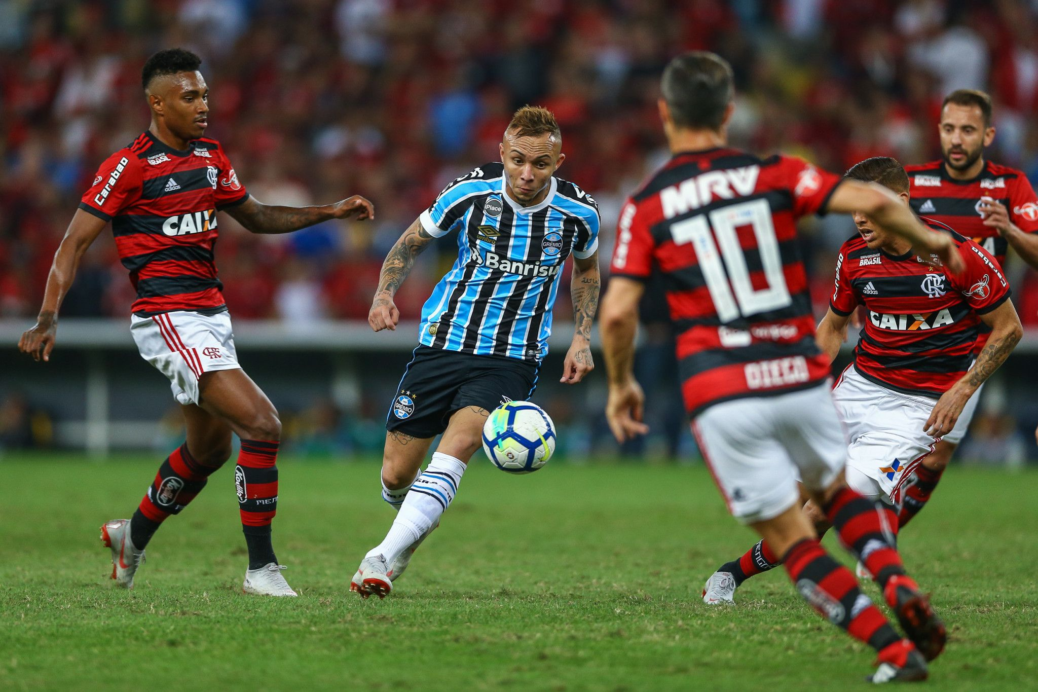 Bom dia, Renato (com os melhores lances de Flamengo 1 x 0 Grêmio)