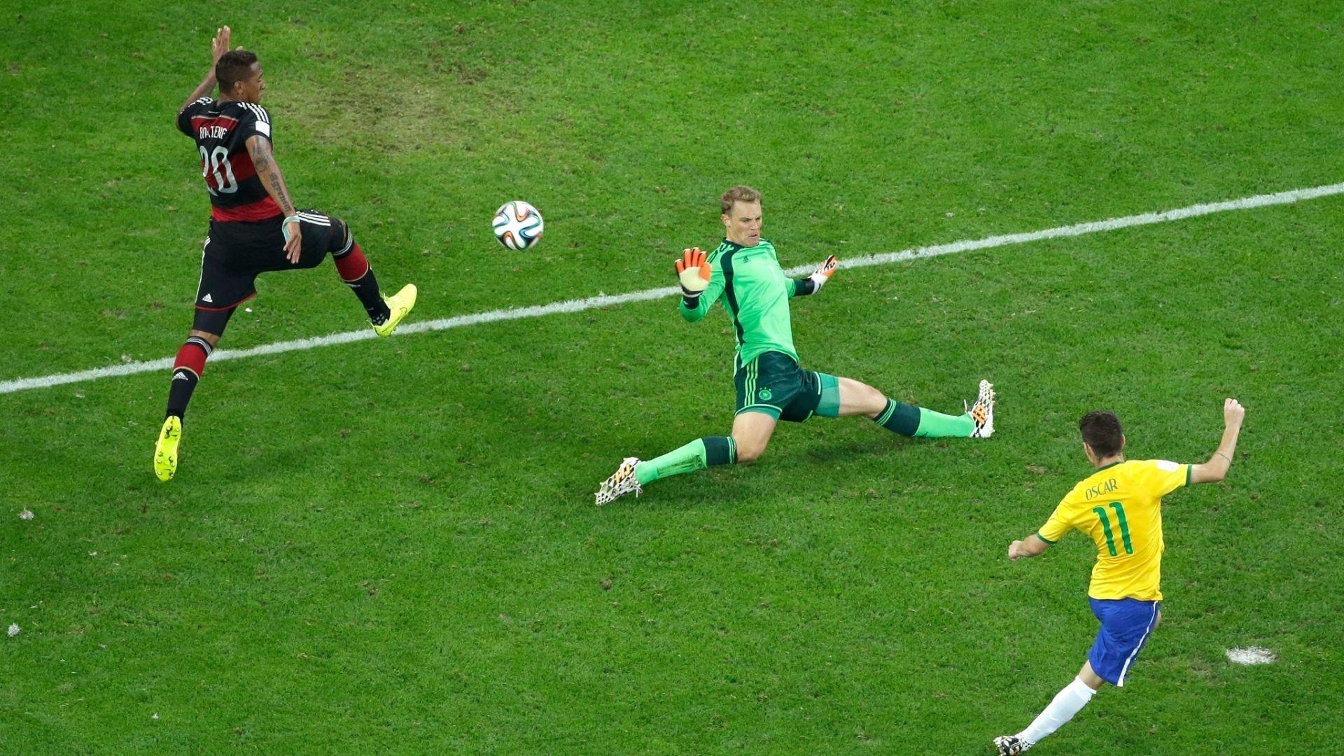 Há um ano, o Brasil ganhava da Alemanha por 1 x 0