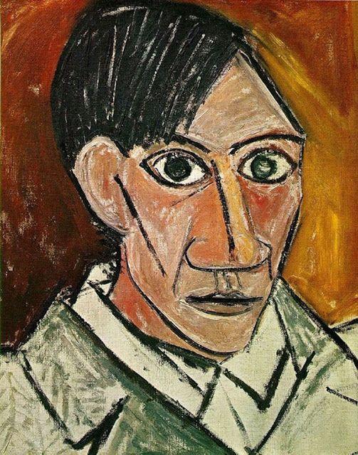 Os autorretratos de Picasso dos 15 aos 90 anos