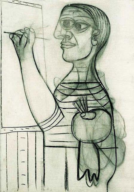 pablo-picasso-self-portraits-7