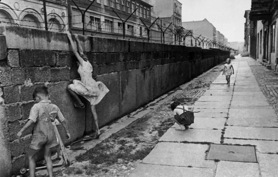 A construção e a queda do Muro de Berlim