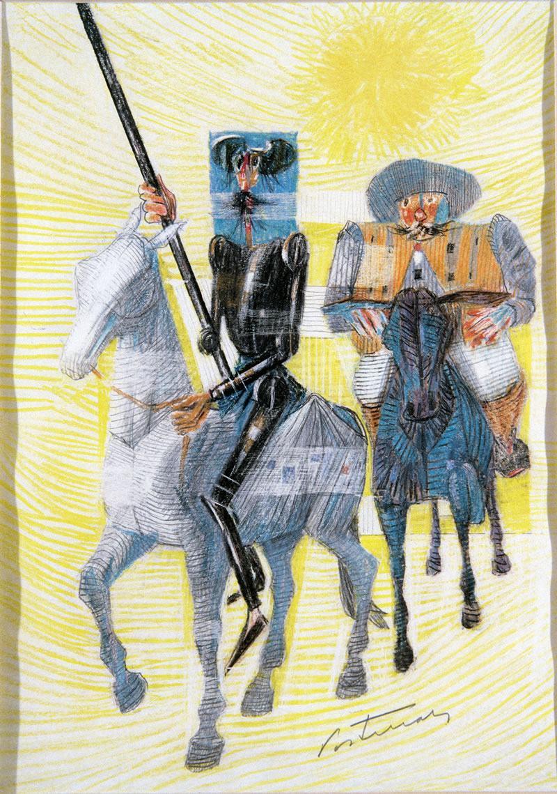 Cervantes, 400 anos de morte: o Dom Quixote que viveu em Miguel de Cervantes