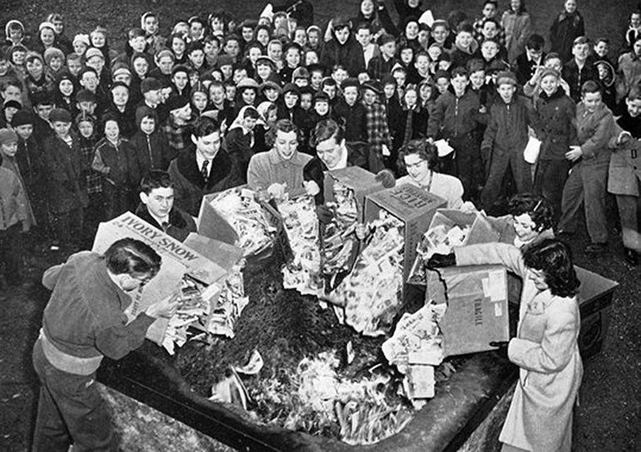 queima de livros nazista 6