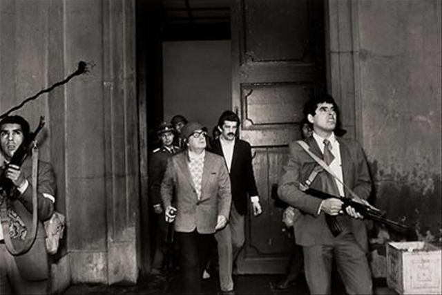 Salvador Allende, 11 de setembro de 1973