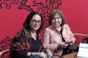 "Sonia Branco e Svetlana Aleksiêvitch: ""Nosso livro"""