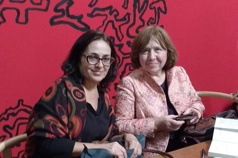 Tradutora de Svetlana Aleksiévitch, Sonia Branco vira 'sócia' da bielorrussa
