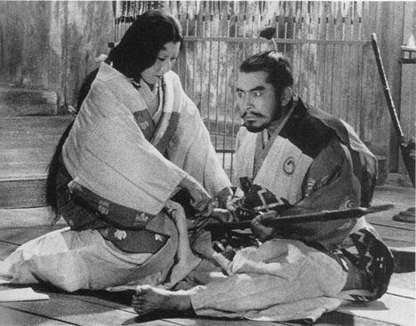 Cena da espetacular versão de Akira Kurosawa para Macbeth: Trono Manchado de Sangue