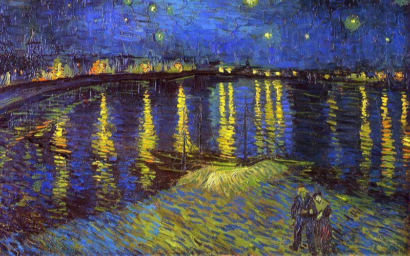 As verdadeiras cores de Van Gogh