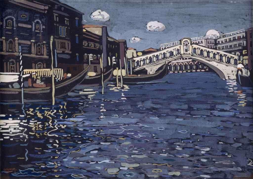 Wassily Kandinsky, Venezia N°4, circa 1903