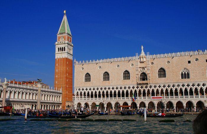 O Palácio Ducal em Veneza