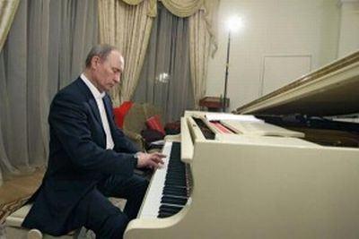 A foto de aniversário de Vladimir Putin divulgada pelo governo russo