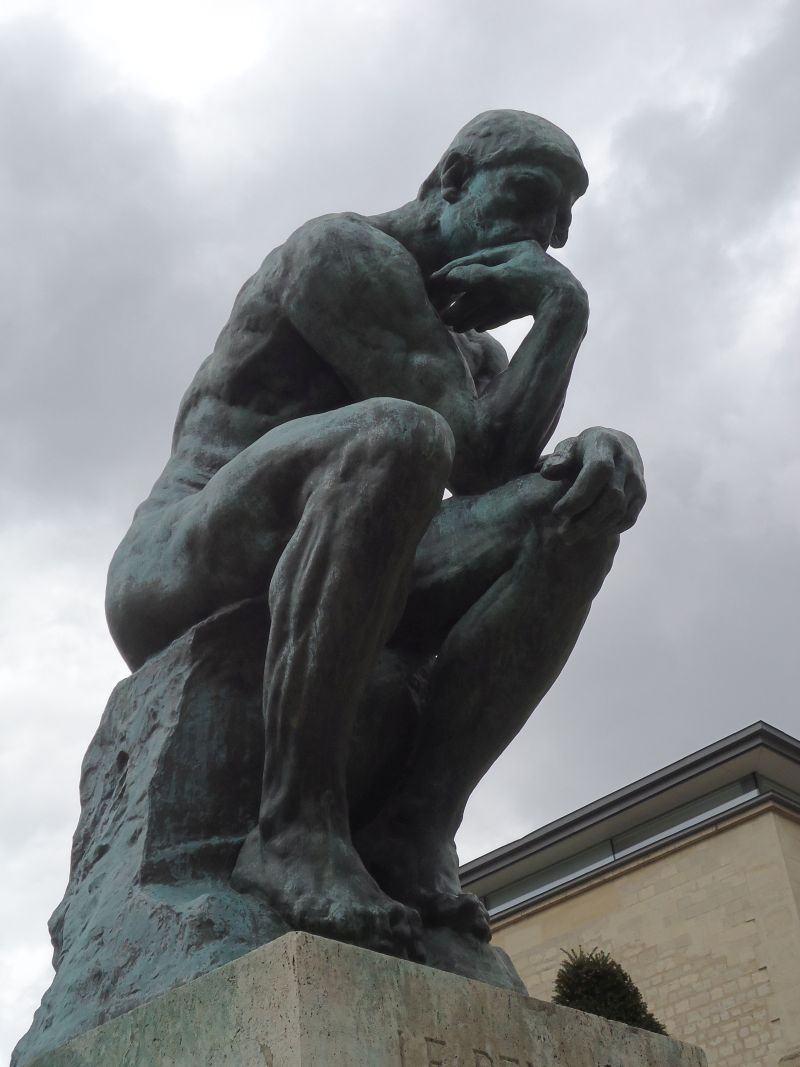 Paris, 25 de fevereiro: Museu Rodin (I – parte externa)